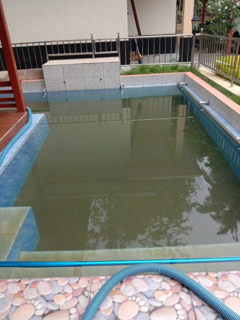 perawatan kolam renang jogja murah Aman Sae Pool